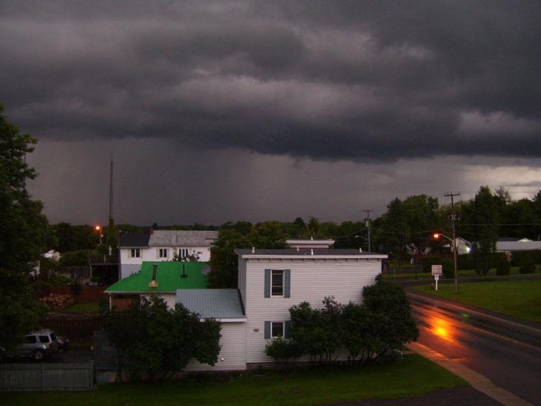 Vankleek Hill rainstorm