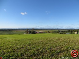 A few thousand years ago, everything here used to be under water... now it's some of the world's best farmland. This view is a few miles from my home. http://en.wikipedia.org/wiki/Champlain_Sea