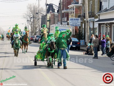 ...St Patricks Day Parade in Vankleek Hill in 2011.