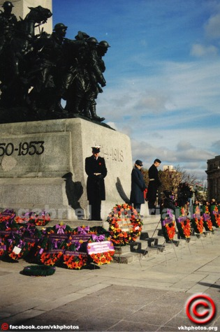 1997 Ottawa Remembrance Day.