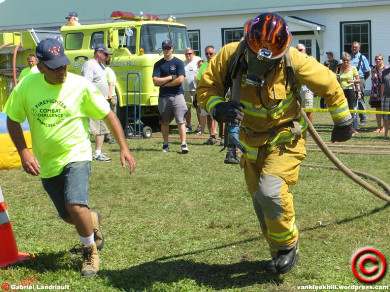 firefighters at the Vankleek Hill fair