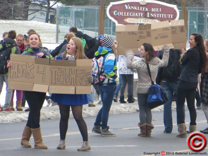 Vankleek Hill protest